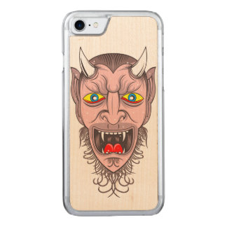 Devil Illustration Carved iPhone 8/7 Case