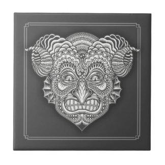 Devil in the Details Ceramic Tile