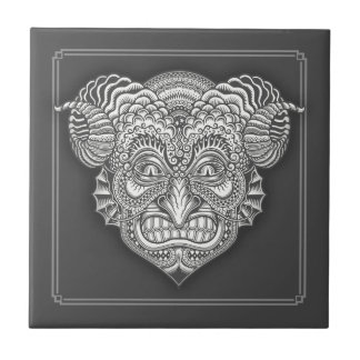 Devil in the Details Small Square Tile