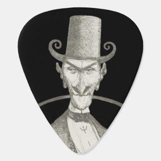 Devil is a gentleman guitar pick