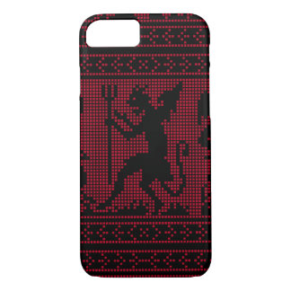 Devil Pattern iPhone 7 Case