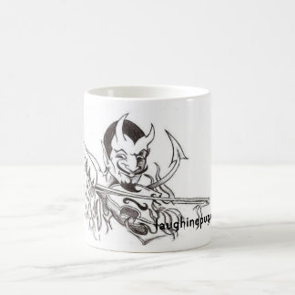 Devil Playing the Fiddle Coffee Mug