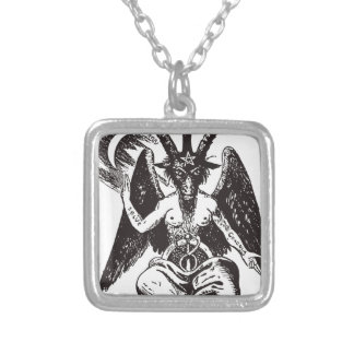 Devil Silver Plated Necklace