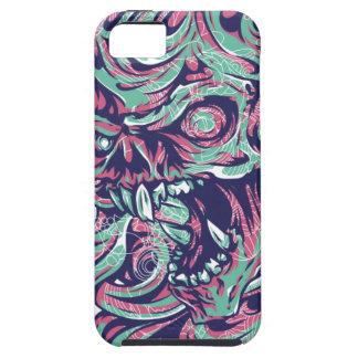 Devil Skull - bananaharvest iPhone 5 Case