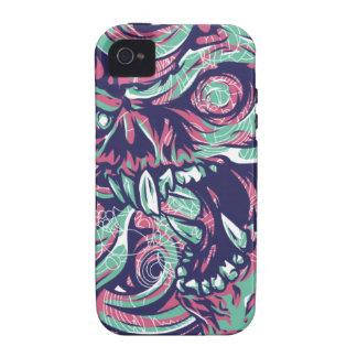 Devil Skull - bananaharvest iPhone 4 Cover