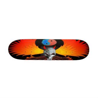 Devil Skull Winged Phoenix Skateboard - Customized