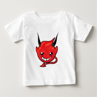 devil smiley face baby T-Shirt