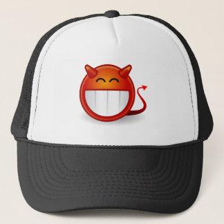 Devil Smiley Funny Trucker Hat