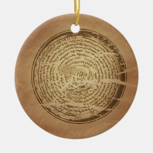 Devil Trap Assyrian Magic Charms Ornament