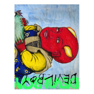 Devilboy card postcard