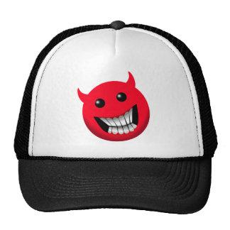Devilish Smile Mesh Hat