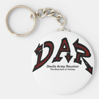 Devils Army Reunion Shopper Basic Round Button Key Ring