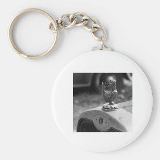 Devils Doo Basic Round Button Key Ring
