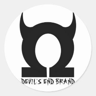 Devil's End Stuff Classic Round Sticker