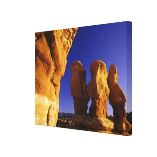 Devils Garden in the Grand Staircase Escalante Stretched Canvas Prints