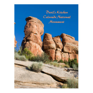 Devil's Kitchen, Colorado National Mnt. Postcard
