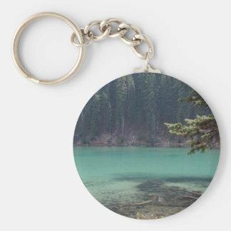 Devils Lake, Oregon Basic Round Button Key Ring