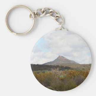 Devil's Peak, near Quorn, Outback Australia Key Ring