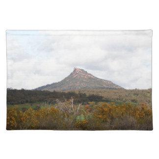 Devil's Peak, near Quorn, Outback Australia Placemat