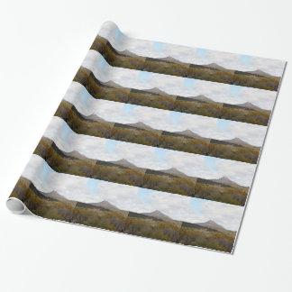 Devil's Peak, near Quorn, Outback Australia Wrapping Paper