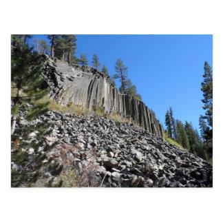 Devils Postpile National Monument Postcard