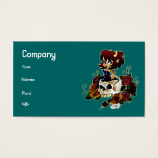 """Devil's Skull"" Business Cards"