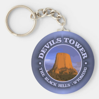 Devils Tower 3 Key Ring