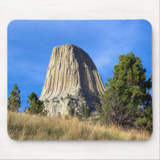 Devils Tower At Sunset Mouse Pad
