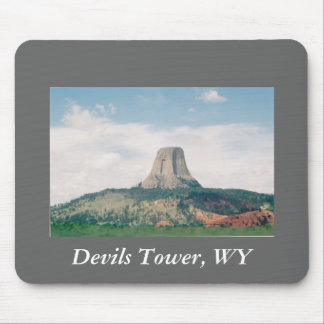 Devils Tower Mouse Pad