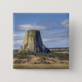 Devils Tower National Monument 3 15 Cm Square Badge