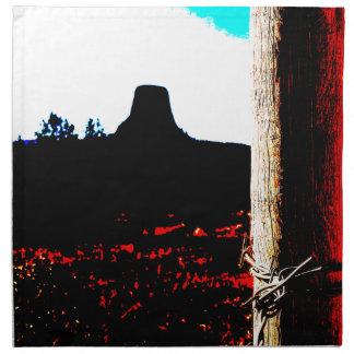 Devils Tower National Monument Napkins