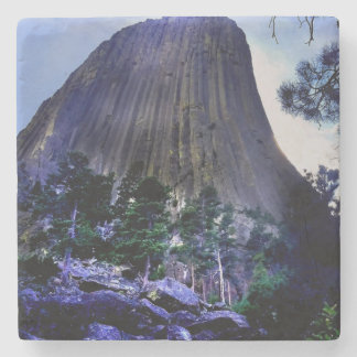Devils Tower National Monument Stone Coaster