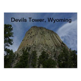 Devils Tower Postcard