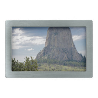 Devil's Tower Rectangular Belt Buckles