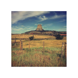 Devils Tower Wood Prints