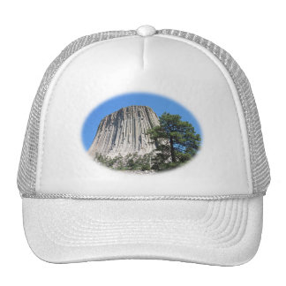 Devils Tower, Wyoming Mesh Hats
