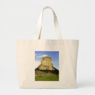 Devil's Tower, Wyoming Jumbo Tote Bag