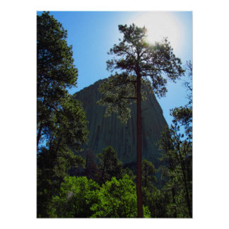 Devil's Tower, Wyoming Poster