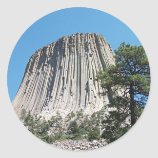 Devils Tower Wyoming Stickers