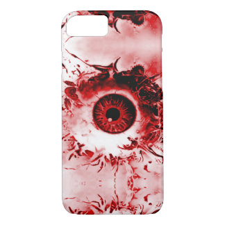Devil's Watcher Eye Horror Show Airbrush Art iPhone 7 Case