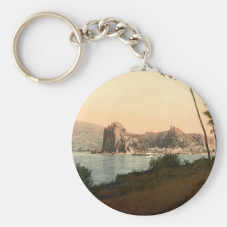 Devin and the Danube, Slovakia Basic Round Button Key Ring