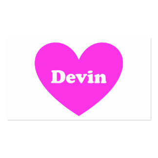 Devin Business Cards