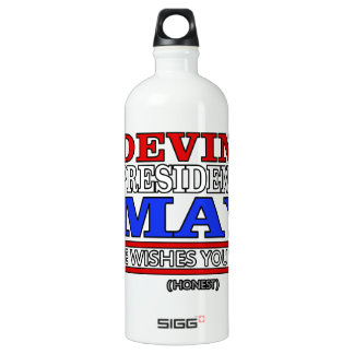 Devin for President of May SIGG Traveller 1.0L Water Bottle