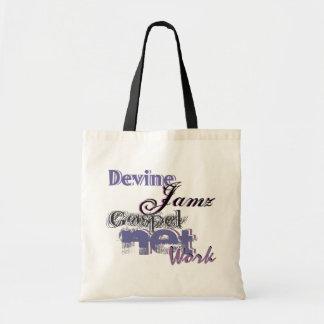 Devine Jamz Gospel Network Budget Tote Bag