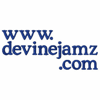 Devine Jamz Gospel  Network Embroidered Hooded Sweatshirts