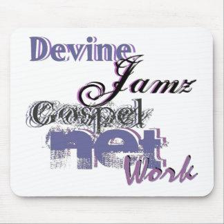 Devine Jamz Gospel Network Mousepads