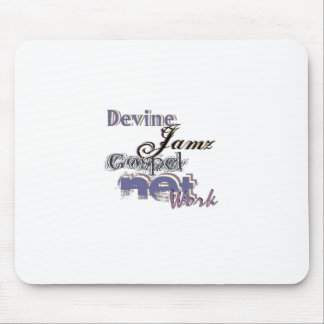Devine Jamz Gospel Network Mouse Pads