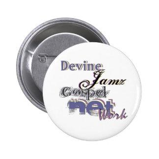 Devine Jamz Gospel Network Pin