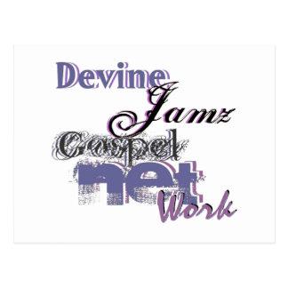 Devine Jamz Gospel Network Postcards