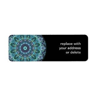 devine mandala return address label
